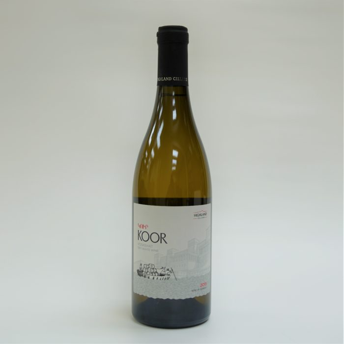 Highland Koor White Armenian Wine